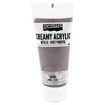 BoBunny - Pentart - Acrylic Paint - Metallic - Silver