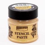 BoBunny - Pentart - Stencil Paste - Metal - Gold