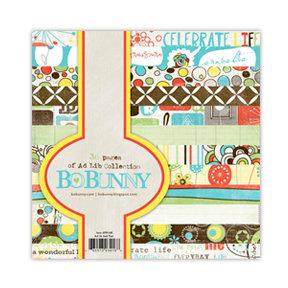 Bo Bunny - Ad Lib Collection - 6 x 6 Paper Pad