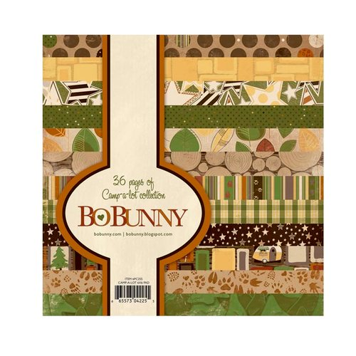 Bo Bunny - Camp-A-Lot Collection - 6 x 6 Paper Pad