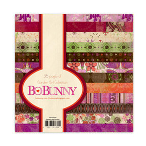 Bo Bunny Press - Garden Girl Collection - 6 x 6 Paper Pad