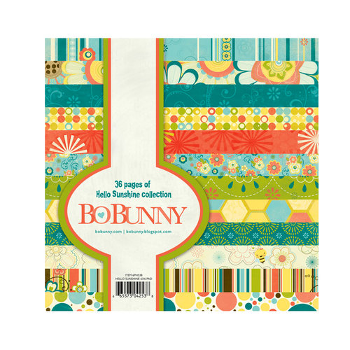 Bo Bunny - Hello Sunshine Collection - 6 x 6 Paper Pad
