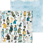 BoBunny - Winter Playground Collection - 12 x 12 Double Sided Paper - Children