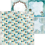 BoBunny - Winter Playground Collection - 12 x 12 Double Sided Paper - Icicles