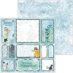 BoBunny - Winter Playground Collection - 12 x 12 Double Sided Paper - Snowball