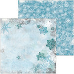 BoBunny - Winter Playground Collection - 12 x 12 Double Sided Paper - Toboggan