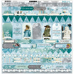 BoBunny - Winter Playground Collection - 12 x 12 Cardstock Stickers - Combo