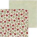 BoBunny - Only You Collection - 12 x 12 Double Sided Paper - Floral