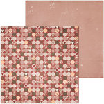 BoBunny - Only You Collection - 12 x 12 Double Sided Paper - Happiness
