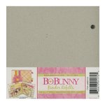 BoBunny - 6 x 6 Bare Naked Binder - with Six Pages