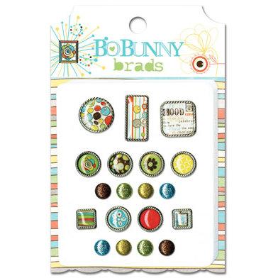 Bo Bunny - Ad Lib Collection - Brads