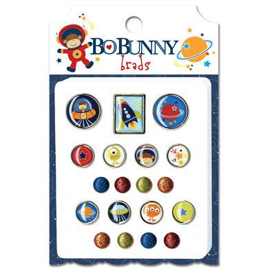 Bo Bunny - Blast Off Collection - Brads