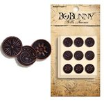 Bo Bunny Press - Bella Journee - Brads - Antique Copper 2, CLEARANCE