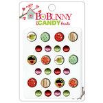 Bo Bunny Press - Love Bandit Collection - I Candy Brads - Cuckoo 4 U , BRAND NEW