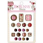 Bo Bunny Press - Crazy Love Collection - Valentine - Brads - Crazy Love