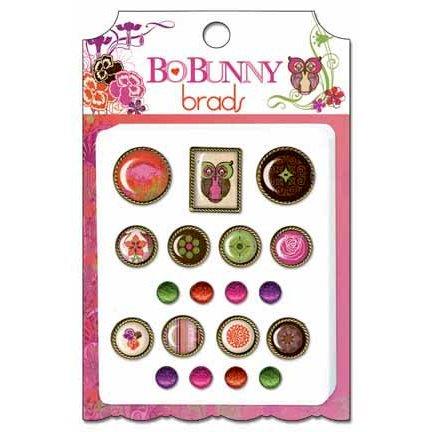 Bo Bunny Press - Garden Girl Collection - Brads