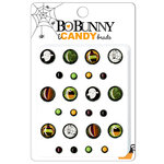 Bo Bunny Press - Boo Crew Collection - Halloween - I Candy Brads - Bugs and Hisses