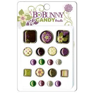 Bo Bunny Press - Jazmyne Collection - I Candy Brads - Jazmyne, CLEARANCE