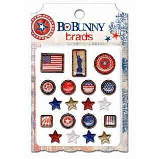 Bo Bunny Press - Liberty Collection - Brads