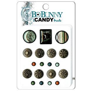 Bo Bunny Press - Mama-razzi Collection - I Candy Brads - Mama-razzi, BRAND NEW