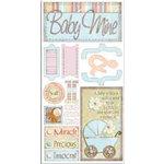 Bo Bunny Press - Cardstock Stickers - Baby Mine