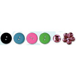 Bo Bunny Press - Alissa Collection - Buttons and Bling, CLEARANCE