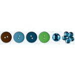 Bo Bunny Press - Abbey Road Collection - Buttons and Bling, CLEARANCE