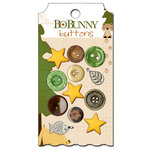 Bo Bunny - Camp-A-Lot Collection - Buttons