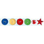 Bo Bunny Press - Calypso Collection - Buttons and Bling , CLEARANCE
