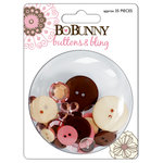 Bo Bunny Press - Delilah Collection - Buttons and Bling - Delilah , CLEARANCE