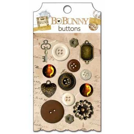 Bo Bunny - Et Cetera Collection - Buttons