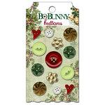 Bo Bunny Press - Father Christmas Collection - Buttons