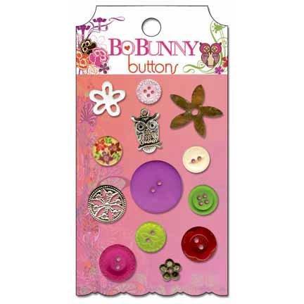 Bo Bunny - Garden Girl Collection - Buttons