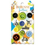 Bo Bunny - On The Go Collection - Buttons