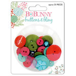 Bo Bunny Press - Persuasion Collection - Buttons and Bling, CLEARANCE