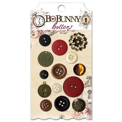 Bo Bunny - Timepiece Collection - Buttons