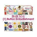 BoBunny - Cardmaking Variety - Buttons - Random Selection