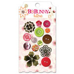Bo Bunny Press - Vicki B Collection - Buttons