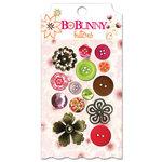 Bo Bunny Press - Vicki B Collection - Buttons