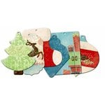 Bo Bunny Press - Blitzen Collection - Christmas - Mini Edgy Album - Blitzen