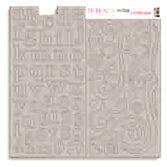 Bo Bunny Press - Double Dot - Chipboard - Bare Naked