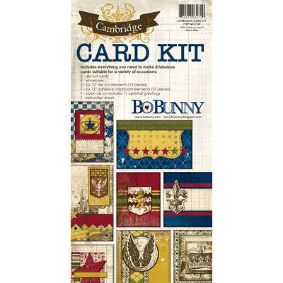 Bo Bunny - Cambridge Collection - Card Kit