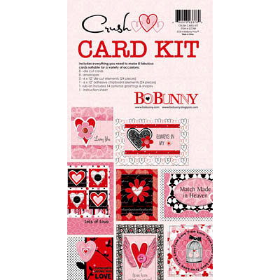 Bo Bunny Press - Crush Collection - Valentine - Card Kit