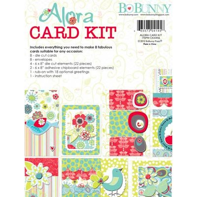 Bo Bunny - Alora Collection - Card Kit