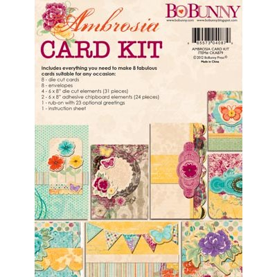 Bo Bunny - Ambrosia Collection - Card Kit