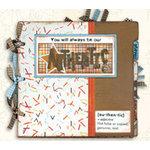 Bo Bunny Press - All in One Kit - Authentic Boy 9x9 Binder Album