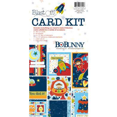 Bo Bunny Press - Blast Off Collection - Card Kit