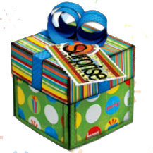Bo Bunny Press - It's My Party Collection - Explosion Box Class Kit - Birthday Surprise