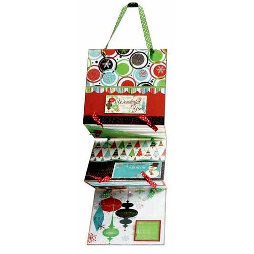 Bo Bunny Press - Tis The Season Collection - Card Holder Class Kit - Christmas