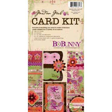 Bo Bunny Press - Garden Girl Collection - Card Kit